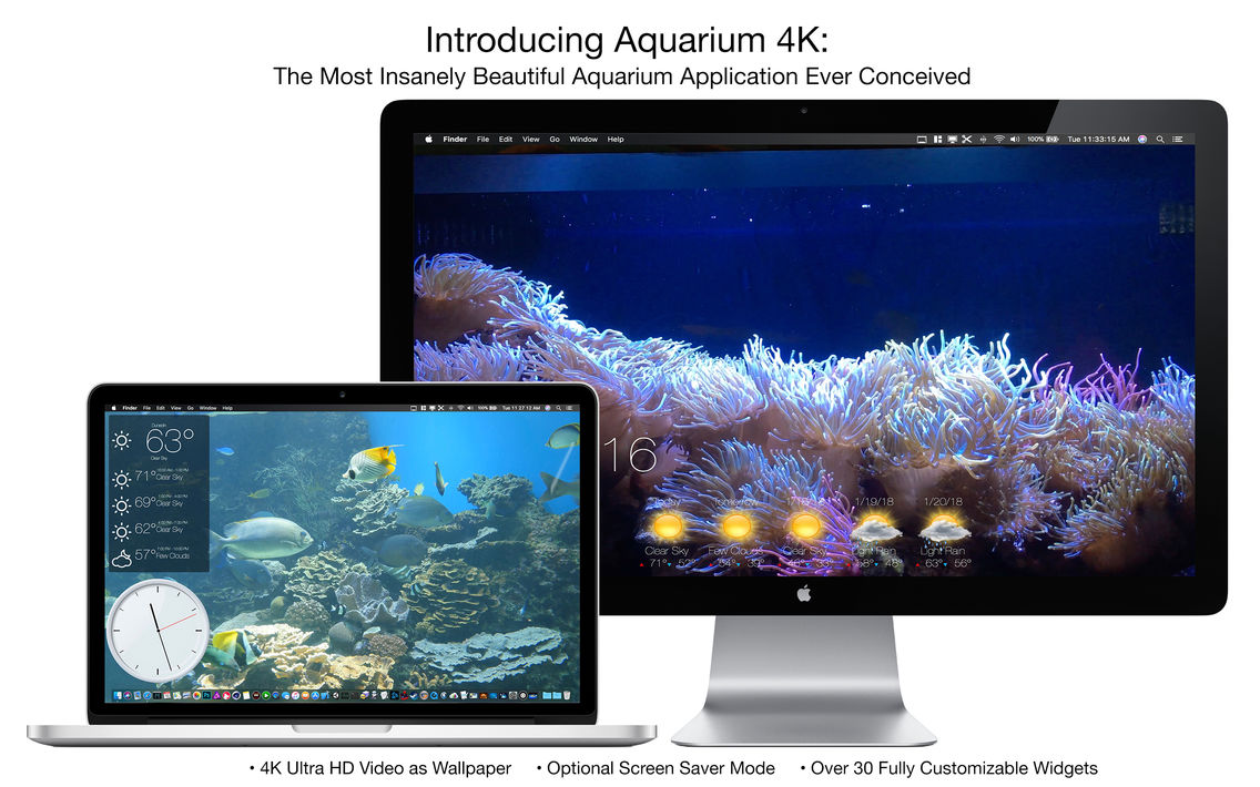 Aquarium 4K - Live Wallpaper