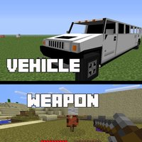 Vehicle and Weapon Mods for Minecraft PC Free
