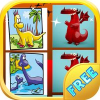 Dinosaurs Memory Game - Dino Cards Memory