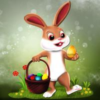 Easter Bunny Hop : The Jumping Rabbit Eggs Treasure Hunt - Free Edition