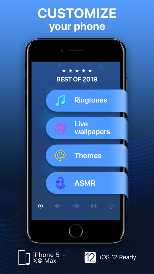 Ringtones for iPhone! App for iPhone - Free Download