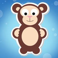 Animals baby game for children: Find the mistake in the forest