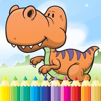 Dinosaur Dragon Coloring Book - All In 1 Dino Drawing, Animal Paint And Color Games HD For Good Kid