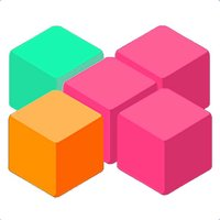 Logic Grid Color block puzzle Brain Training for 10-10