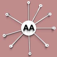 AA Lucky 3D Dots Wheel