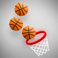 Dunk Circle #1 baskteball game