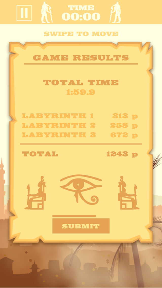 Labyrinth - Ancient Tournament App for iPhone - Free