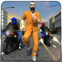 Police Bike Crime Patrol Chase 3D Gun Shooter Game