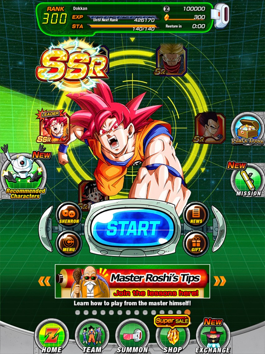 DRAGON BALL Z DOKKAN BATTLE iOS App