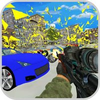 Shoot Car Crazy: Destroy City