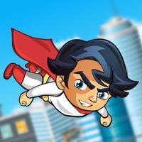 The Flying Superhero