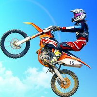 天空飞车-滚动摩托飙车游戏