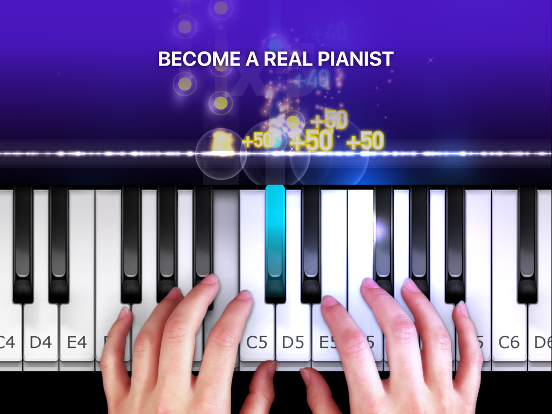 Piano - simply game keyboard App for iPhone - Free Download