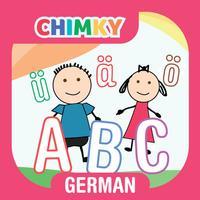 CHIMKY Trace German Alphabets