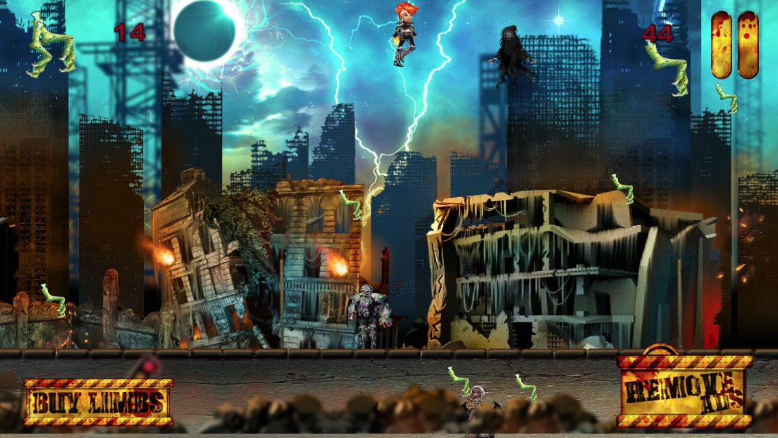 Ghost Town Monster Hunter App for iPhone - Free Download Ghost Town