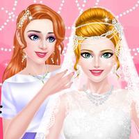 Celebrity Wedding Planner - Bridal Makeover Salon: SPA, Makeup & Dressup Beauty Game for Girls