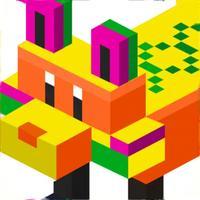 Pixel Art 3D Number Coloring