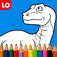 Coloring Book for Dinosaur
