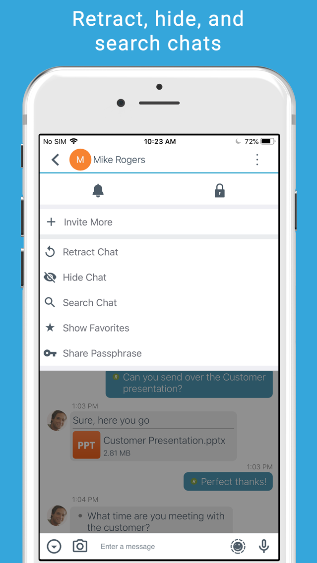 BBM Enterprise App for iPhone - Free Download BBM Enterprise