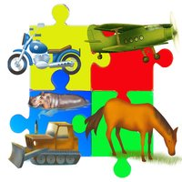 Puzzle Cartoon Game for Babies