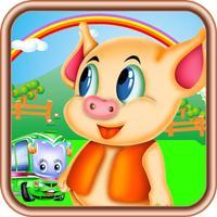 猪猪汽车世界,儿童游戏