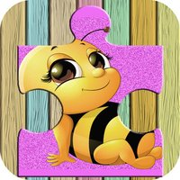 Cute Animals Farm Jigsaw Puzzles – Magic Amazing HD Puzzle Game Free for Kids and Toddler Learning Games