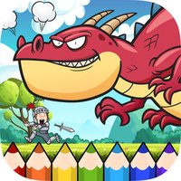 Dragon Coloring Book - Painting Game for Kids