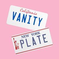 Vanity License Plate Maker - for iMessage