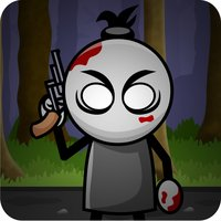 Scary Stick-Man Epic Grave-Yard Obstacle Course