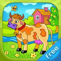 Farm Animals - Living Coloring Free