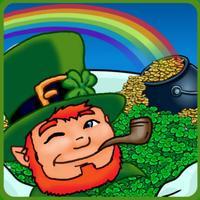 St Patrick's Match Three Game Free Leprechaun Leaf