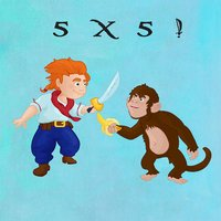 Learn Times Tables - Pirate Sword Fight