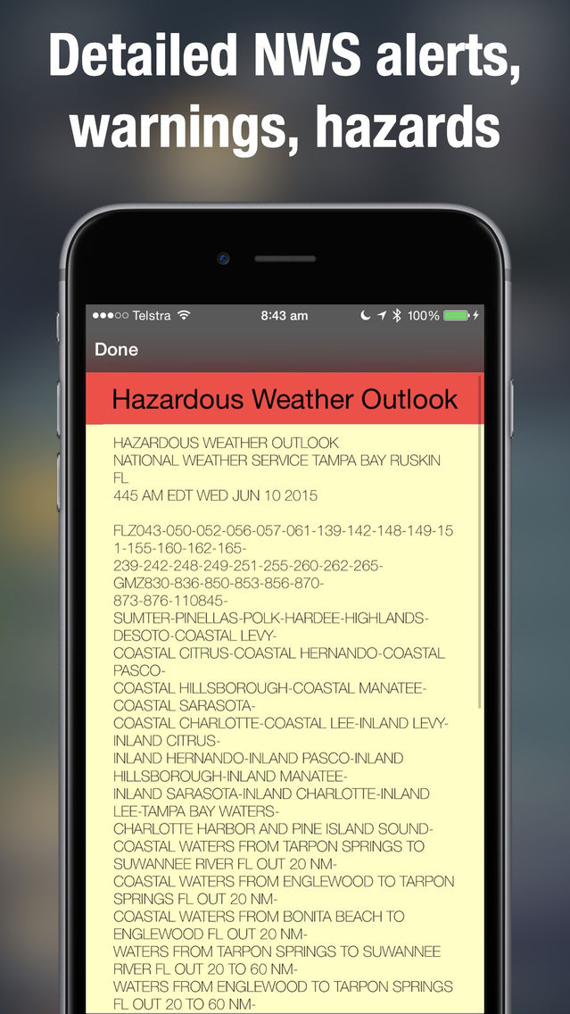Weather Radar Map Live App for iPhone - Free Download ...