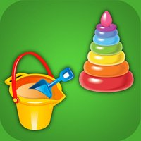The shadow puzzle toys. Educational game HD