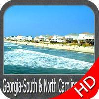 Georgia to N Carolina HD Chart