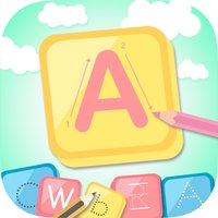 Calligraphy ABC Coloring Book