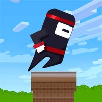 Jumpy Spring Ninja - jump, dodge, & circle!