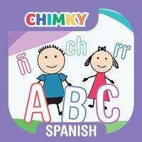 CHIMKY Trace Spanish Alphabets