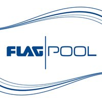 FLAGPOOL - Cut out for your swimming pool