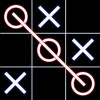 Tic Tac Toe Glowing