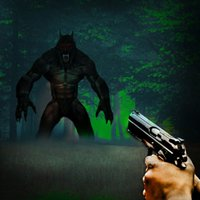 Hunter vs bigfoot dark monster