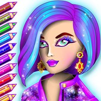 Fashion Adult Coloring Book