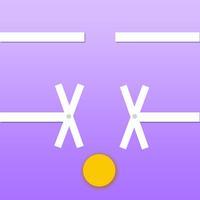 Classic dot up - sticks & ball game