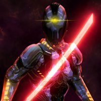 Space Cyborg-Sword Fighting 3D