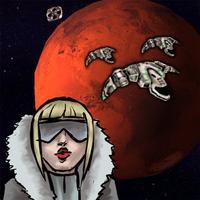Mars Defender: Asteroids Space RPG