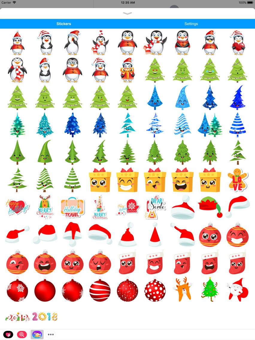 100 Pics Christmas Emoji.Christmas Emoji Santa Claus App For Iphone Free Download