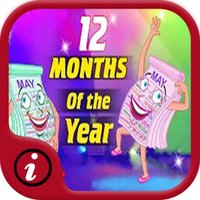 Fun English Vocabulary Months Of The Year Learning Games - A toddler calendar learning app