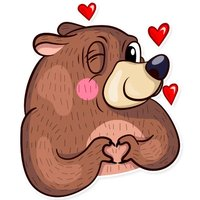 Funny Bear Sticker Pack