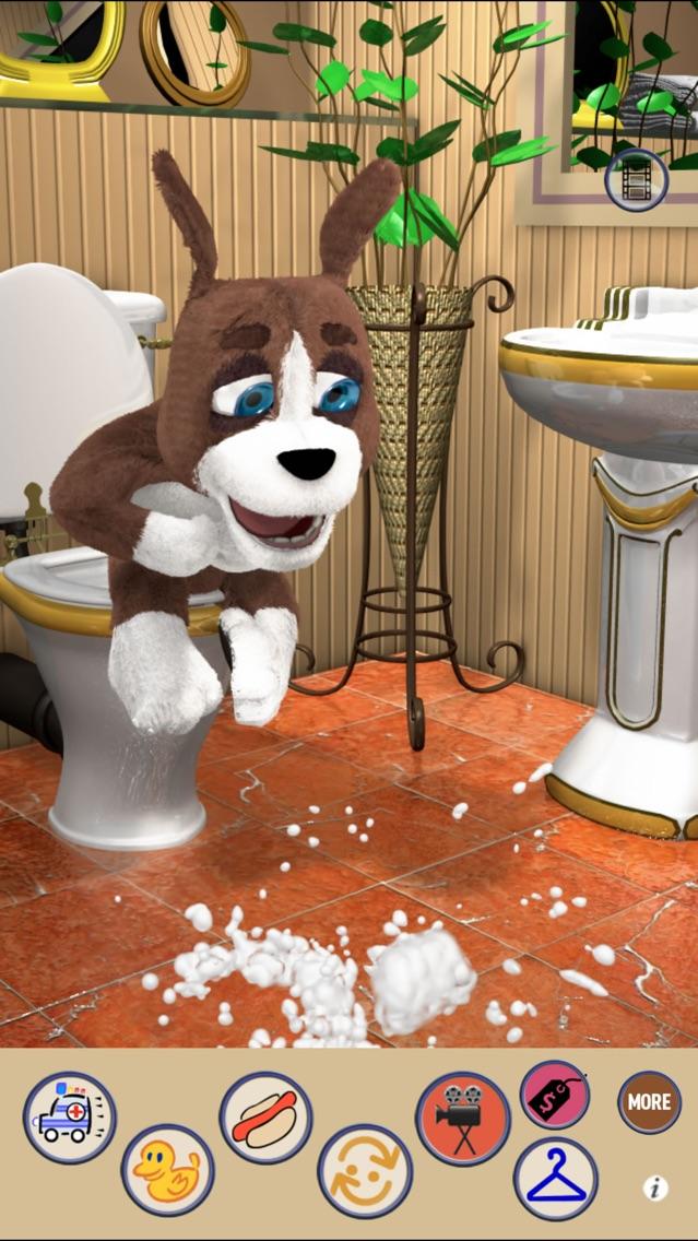 Talking Dog (Duke) 2 - Fun Baby Doggie Pup Poodle Friend App