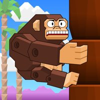 Planet of Climbing Apes - Climb and Avoid the Branches